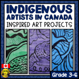 Indigenous Artists of Canada Inspired Art Projects