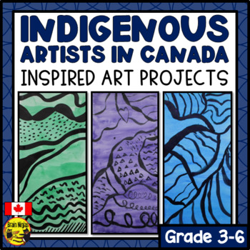 Aboriginal Artists of Canada Inspired Art Projects