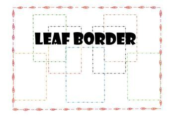 Aboriginal Australian Pattern Page Border Pack #2