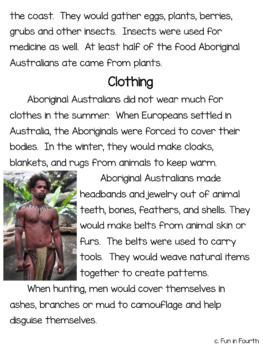 Aboriginal Australians: Global Indigenous Cultures Informational Article