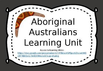 Aboriginal Australians - google slides
