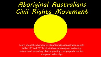 Aboriginal Civil Rights Movement Unit  Tasks  Inquiry Project And  Aboriginal Civil Rights Movement Unit  Tasks  Inquiry Project And Essay