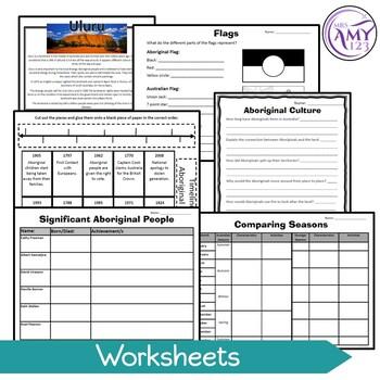 Aboriginal Culture Unit- Suitable for NAIDOC Week or Year 3 & 4 ACARA