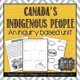 Canada's Indigenous People (First Nations, Aboriginal) - Inquiry Based Unit