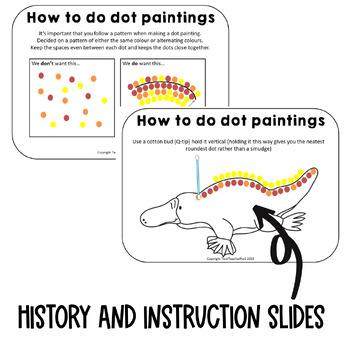 Aboriginal Dot Painting Activity By Tech Teacher Pto3 Tpt