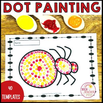 Aboriginal Dot Painting Activity NAIDOC by Tech Teacher Pto3 | TpT