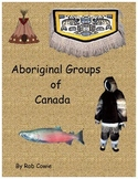 First Nation (Aboriginal) Groups of Canada