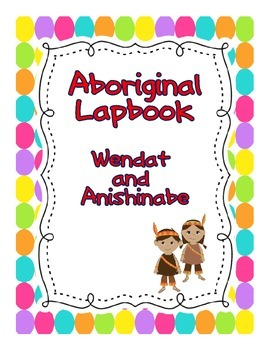 Aboriginal Lapbook Pack