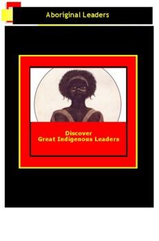 History of Australia: Aboriginal Leaders: Simulation and Webquest