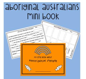 Aboriginal Minibook - No Prep!