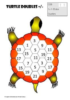Aboriginal NAIDOC Number Games Number Mob Turtle Addition