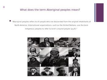 Aboriginal People in Canada