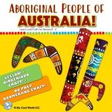 Aboriginal People of Australia K - 2 | Lesson + Didgeridoo AND Boomerang Crafts