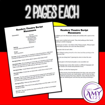 Aboriginal Readers Theatre Scripts- Contact with Other Cultures