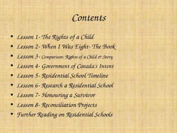 First Nations (Indian) Residential Schools: A Culture Lost (63 slides)