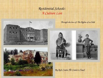 Aboriginal (Indian) Residential Schools: A Culture Lost (4