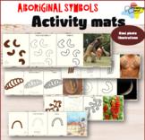 Aboriginal Symbol Activity Mats| Real-life photos to explain Aboriginal symbols