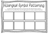 Aboriginal Symbol Patterning Sheet