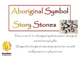 Aboriginal Symbol Story Stones