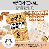 Aboriginal Symbol Wristbands, Number Posters and NAIDOC Bunting