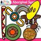 Aboriginal Symbols Clip Art {Australian Native Art, Dreamt