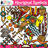 Aboriginal Symbols Clip Art | Australian Native Art, Dreamtime for Scrapbooking