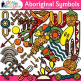 Aboriginal Symbols Clip Art   Australian Native Art, Dreamtime for Scrapbooking