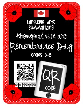 Aboriginal Veterans Remembrance Day {Intermediate}