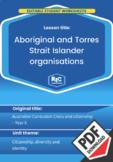 Aboriginal and Torres Strait Islander organisations