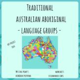 Aboriginal indigenous Australia - Language Groups and Connection to Land