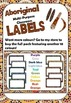 Aboriginal multi-purpose editable classroom labels full set