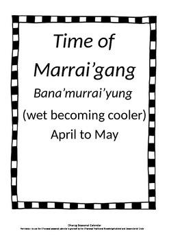 Aboriginal seasons Central Australian East coast - Dhurag, Worimi