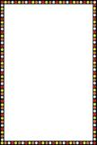 Aboriginal themed border
