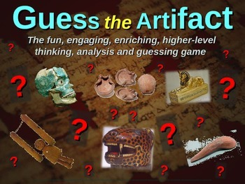 """Aborigine """"Guess the artifact"""" game: engaging PPT with pic"""