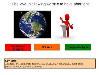Abortion - Pro-life and Pro-choice
