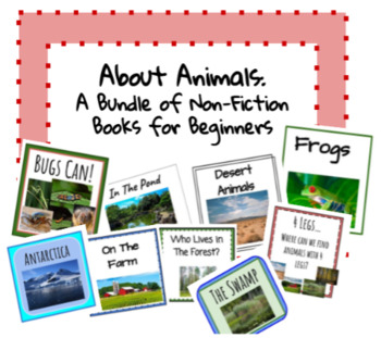 About Animals- Information Books for Beginners