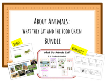 About Animals: What they Eat and The Food Chain
