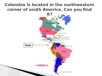 About Colombia (English and Spanish)