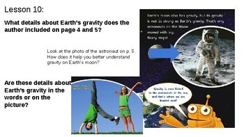 ReadyGEN Third Grade lessons for About Earth
