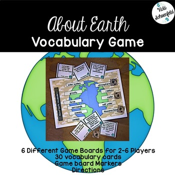 About Earth Vocabulary Game