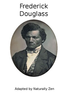 About Frederick Douglass-Adapted Book (editable) / Black History Month