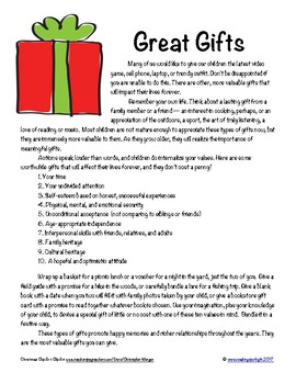 Great Gifts For Children