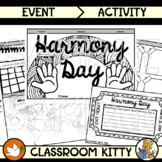 About Harmony Day Tab Book + Exit Ticket