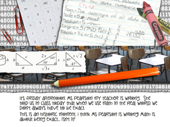About Math POWERPOINT  (Picture Book)