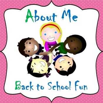 Back to School Getting to Know You Activities September Apples