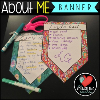 About Me Banner for Back to School