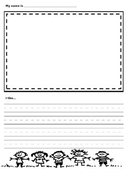 About Me Book (Student Version/Template)