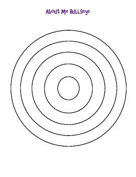 About Me Bullseye