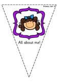 About Me Bunting