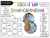 About Me Dodecahedron
